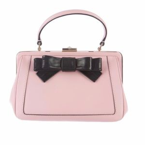 Kate Spade Cricket Street Emilia Pink Bow Satchel